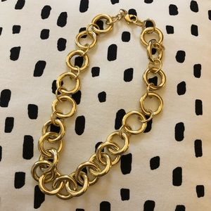 J.Crew Gold Chain Necklace